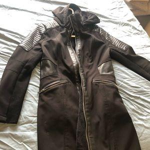 Jackets & Blazers - BCBG Black Fall Coat